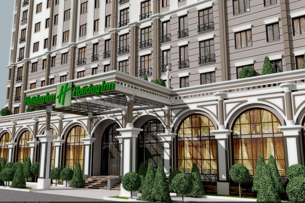 Гостиница Holiday Inn в Краснодаре