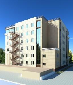 Офисное здание в центре г. Краснодара по ул. Рашпилевская и ул. Северная...