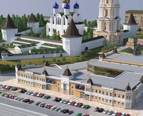 торговый комплекс в г. Москва