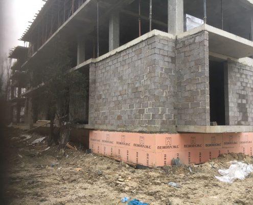 Проект обновления фасадов гостиницы в пос. Лермонтово