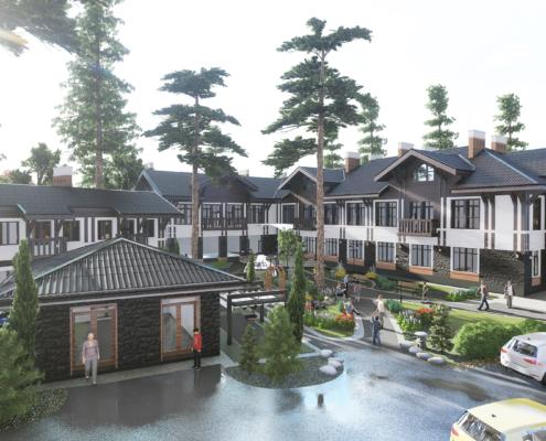 проект гостиница