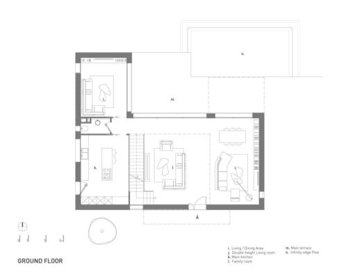 план дома минимализм