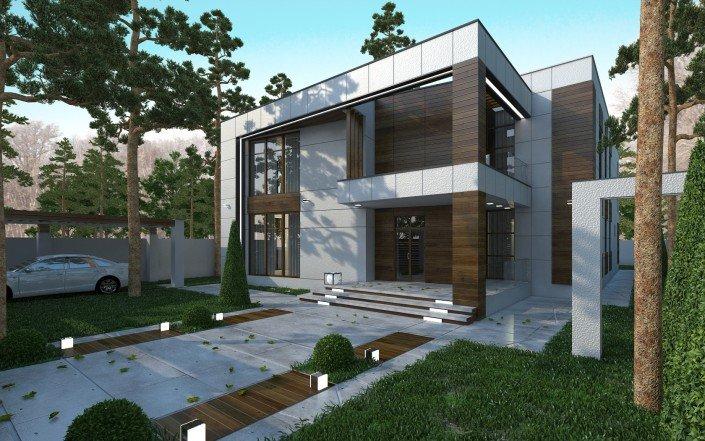 Жилой дом на поле чудес модернизм