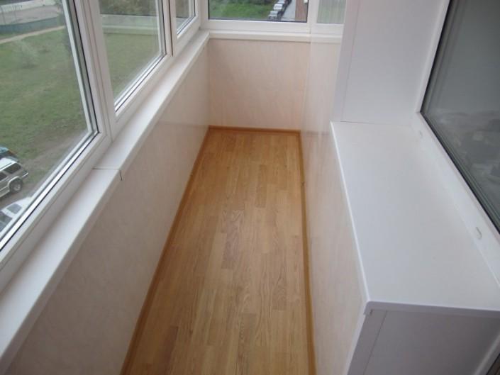 Внутренняя отделка балкона панелями под ключ в хабаровске - .