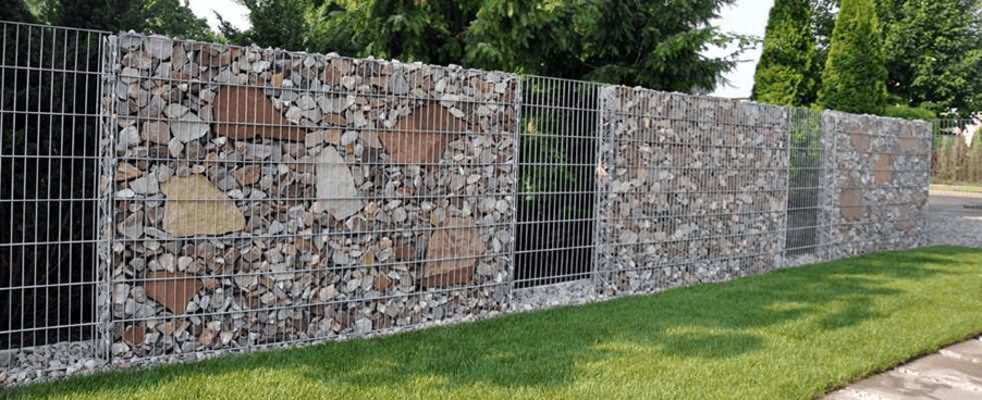 забор габионы