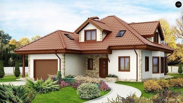 фасад дом