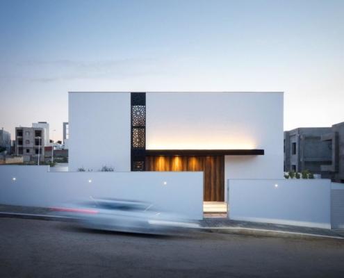 фасад дом минимализм