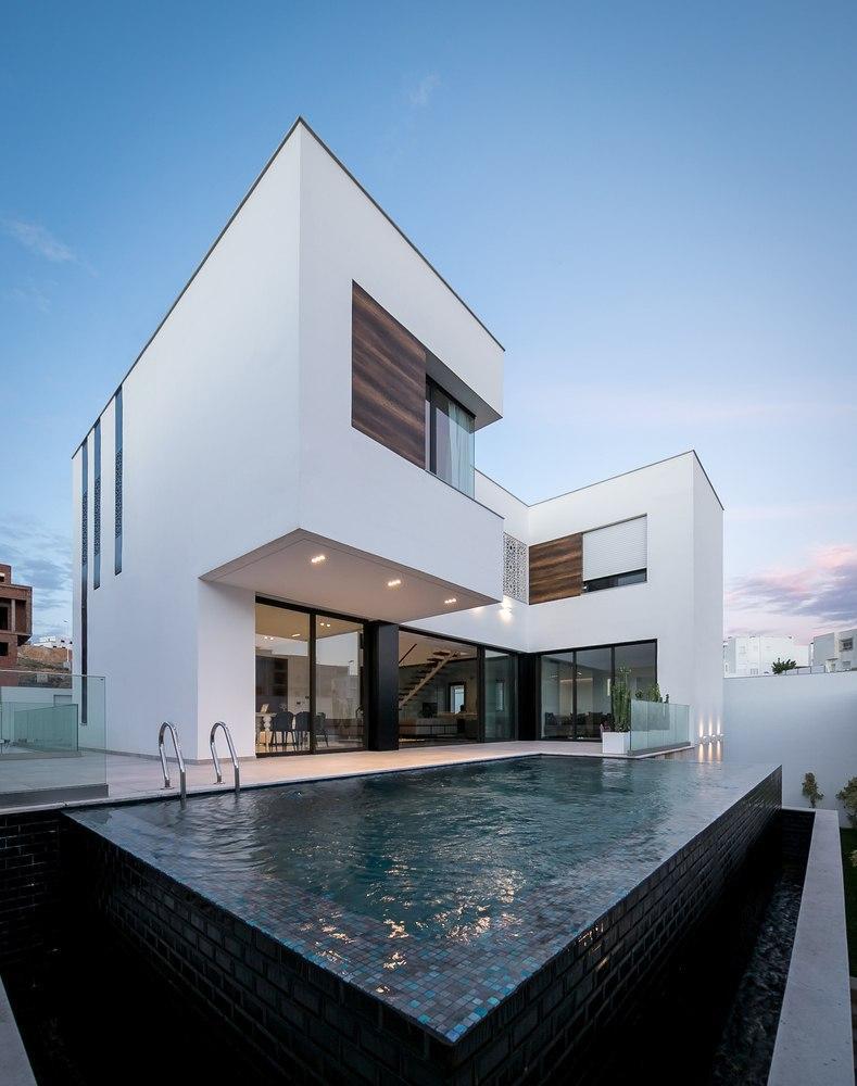 Фасад минимализм